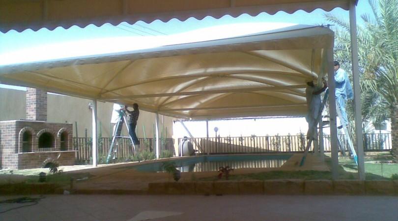 مظلات للمدارس او الاسواق للتغطية